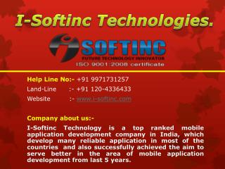 Best Mobile application development company in India, Delhi NCR