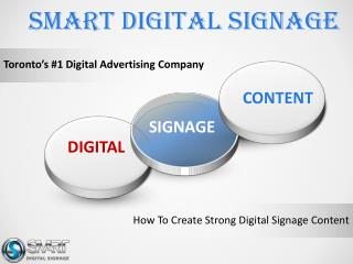 How To Create Better Digital Signage Content