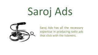 Radio Ad & Advertisement Agency, Services in Chennai, Delhi, Bangalore, Hyderabad, India