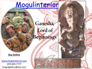 Ganesha, Lord of Beginnings