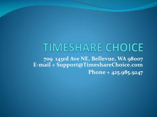 Interval Timeshare Exchange