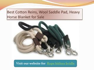 Best rope bitless bridle