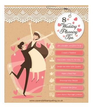 8 Wedding planning Tips