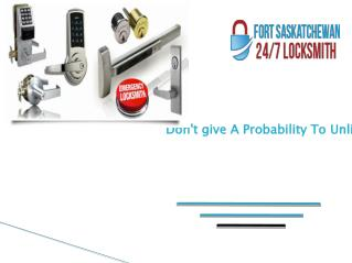 Commercial and Residential locksmith Services in Fort Saskatchewan