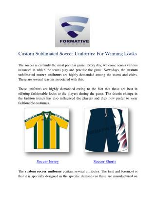 Soccer Uniforms Manufacturers Suppliers Australia USA