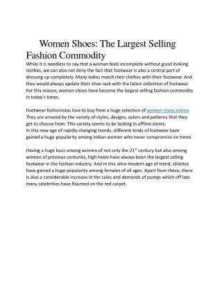 Women shoes online