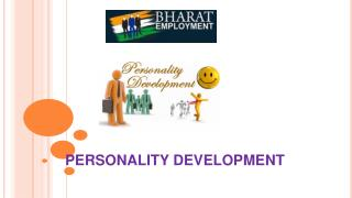 Personality Development By Bharat Employment