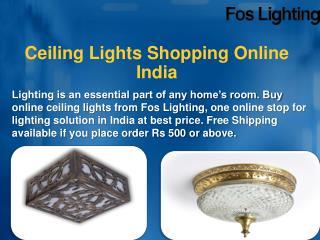 Ceiling Lights Shopping Online India – Foslighting