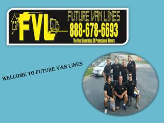 Get Baltimore Local Movers from Future Van Lines