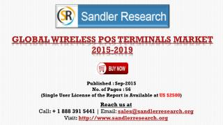 2019 Global Wireless POS Terminals Market Revenue Analysis and Forecasts Report