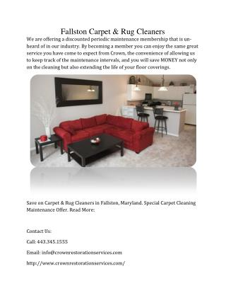 Fallston Carpet And Rug Cleaners