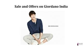 Sale and Offers on Giordano India