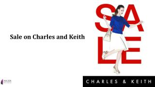 Sale on Charles and Keith