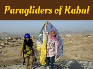 Paragliders of Kabul