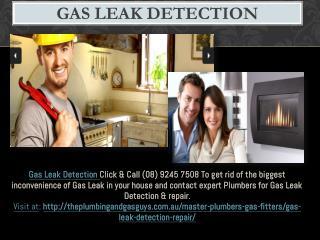Gas Leak Detection