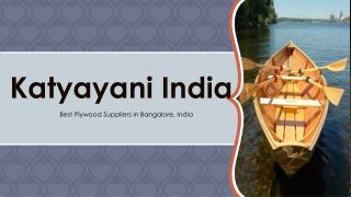 Marine plywood Manufacturers in Bangalore