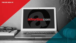 Ad Publishers Media Kit - How to Monetize Your Website and Traffic with Advertise.com