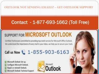 Call 1-855-903-6163 Outlook Email Support Number