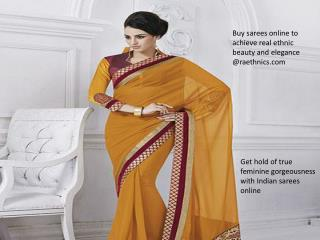 Best Indian Dresses Online Shopping With Raethinic