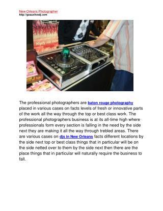 djs in lafayette la baton rouge photography