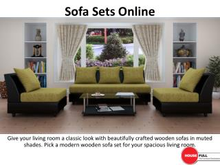 Buy Sofa Set online in India at Housefull.co.in