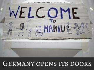 Germany opens its entryways