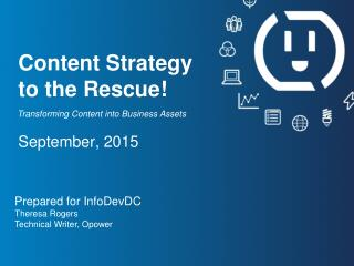 Content Strategy to the Rescue!
