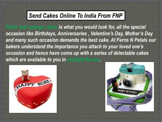 Buy and Send Delicious Cakes Online at Best Prices
