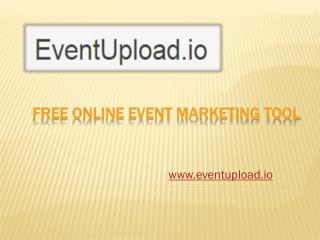 Free Online Event Marketing or Promotion