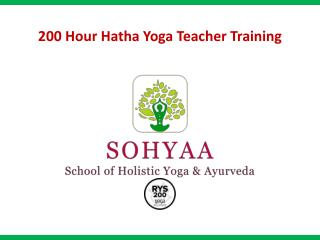 200 Hour Hatha Yoga Teacher Training