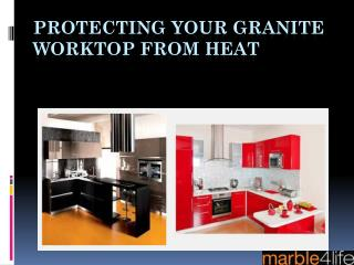 Protecting your granite worktop from heat