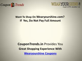 wearyourshine coupons