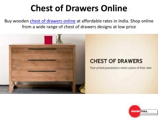 Buy Chest of Drawers Online in India at Housefull.co.in