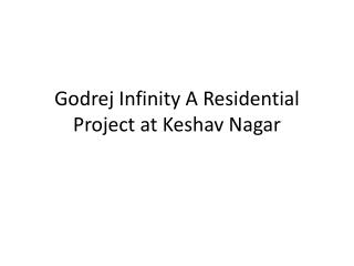 Lavish Apartment in Godrej Infinity Keshav Nagar