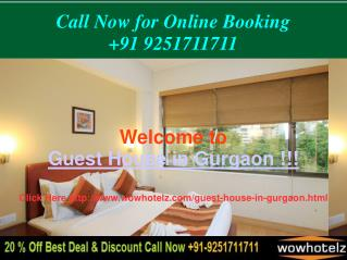 Cheap Guest House in Gurgaon