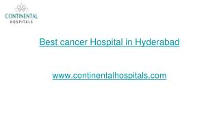 List of Cancer Hospitals in Hyderabad