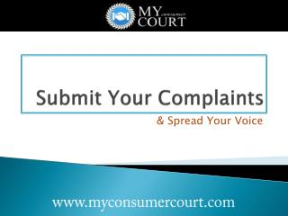 Learn How to File a Case in Consumer Court