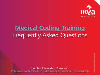 Medical Coding Training Frequently Asked Questions