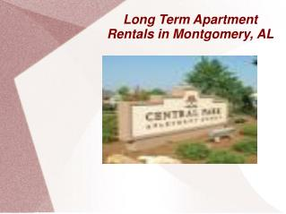 Apartments for Rent Montgomery Al