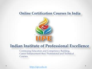 Online Distance Learning Courses In India