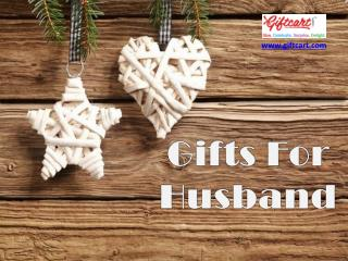 Gifts for husband Giftcart