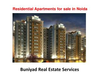 Apartments for sale in Noida