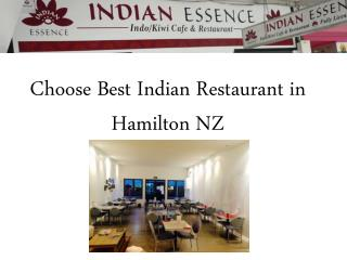 Choose Best Indian Restaurant in Hamilton NZ
