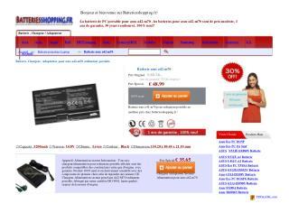 http://www.batteriesshopping.fr/asus-m70s-series.html