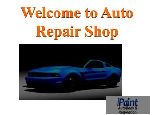 Orange county auto body