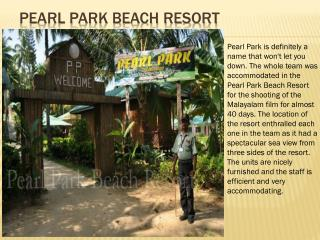 Pearl Park Beach Resort
