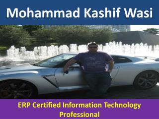 - ERP Certified IT Professional