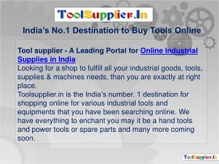 Power tools | Hand tools | Online tools shopping store in india