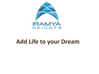 Dwarka L Zone|3BHK in L Zone-iramya.com