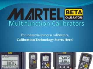 Martel Multifunction Calibrators